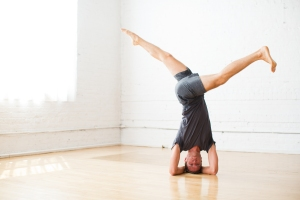 revolved headstand