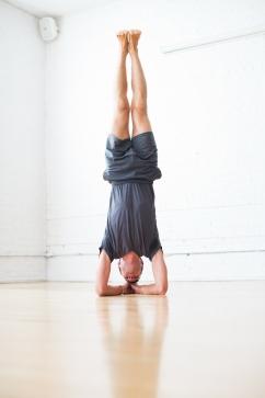 Sirsasana Forearm Balance